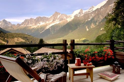 view of Chamonix