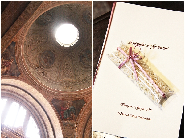 Italian church wedding