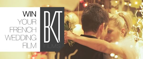 Win your wedding video with BKT Films