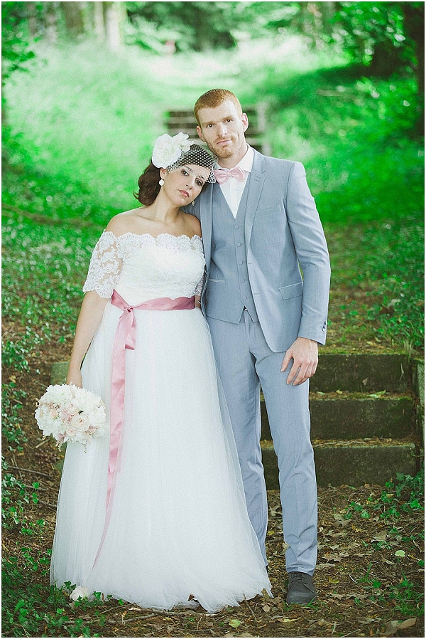 grey pink wedding ideas