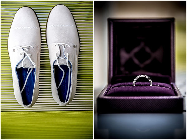 groom Shoes ring