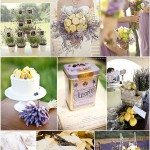 lavender and lemon wedding ideas