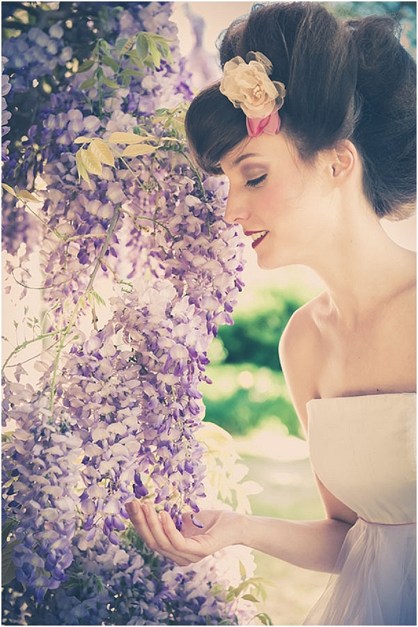lavender romantic wedding