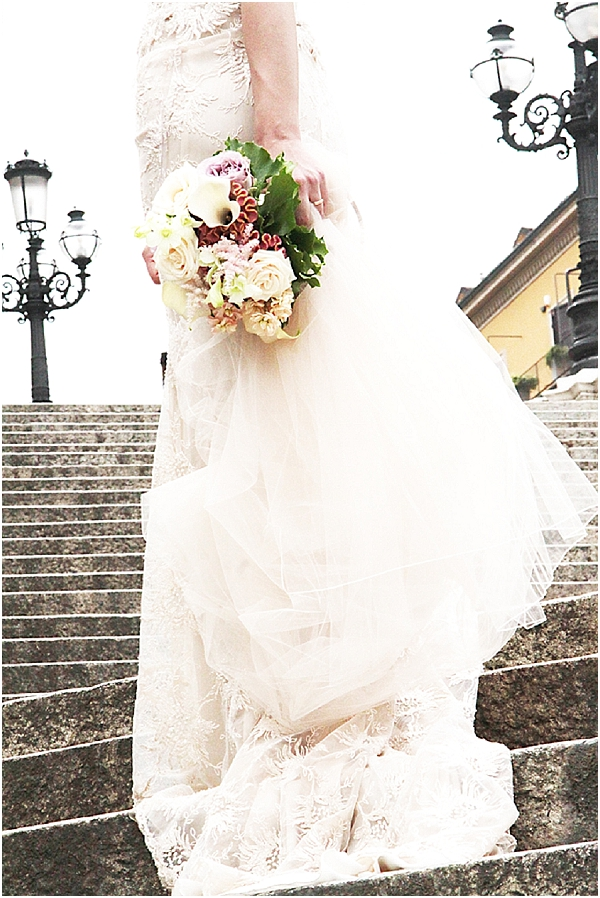Lily Bridal bouquet for wedding in Bologna Italy