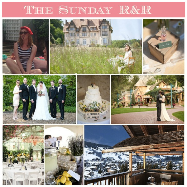 The Sunday R&R on French Wedding Style