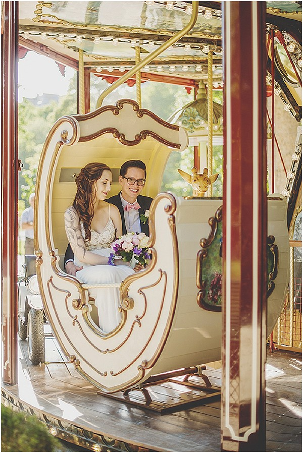 carousel wedding