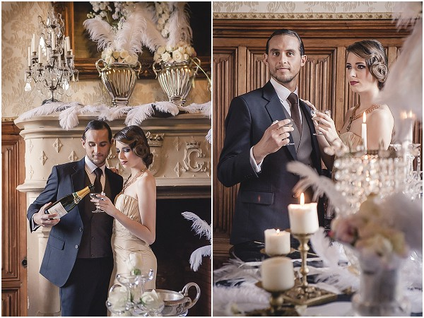 Great gatsby wedding inspiration at chateau challain great gatsby wedding ideas junglespirit Image collections