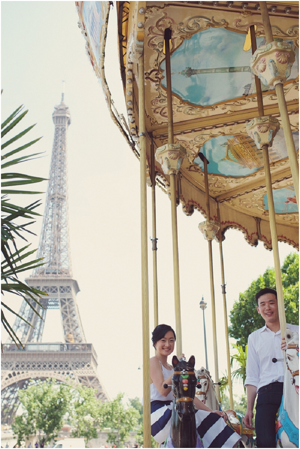 sweet  engagement session paris