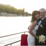 wedding river paris