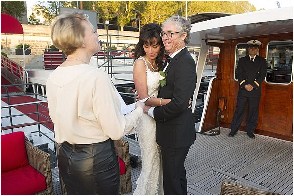 yacht wedding paris