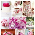 Pop of Pink Peony Wedding Ideas