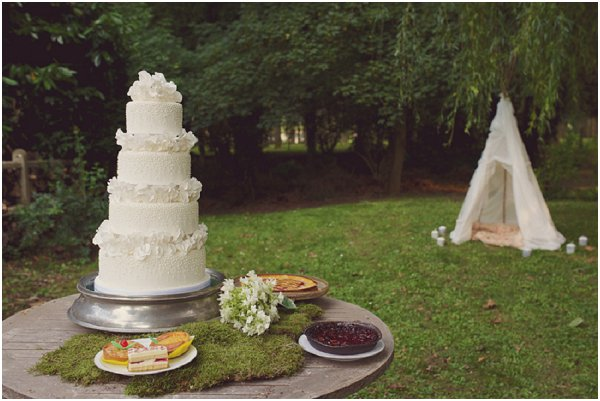boho chic outdoor wedding