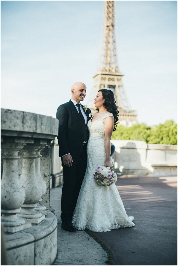elegant wedding paris
