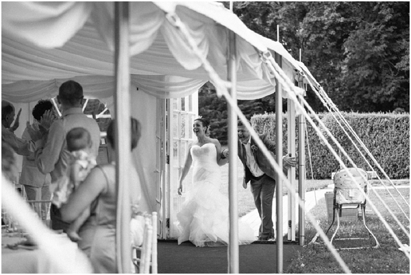 french wedding marquee