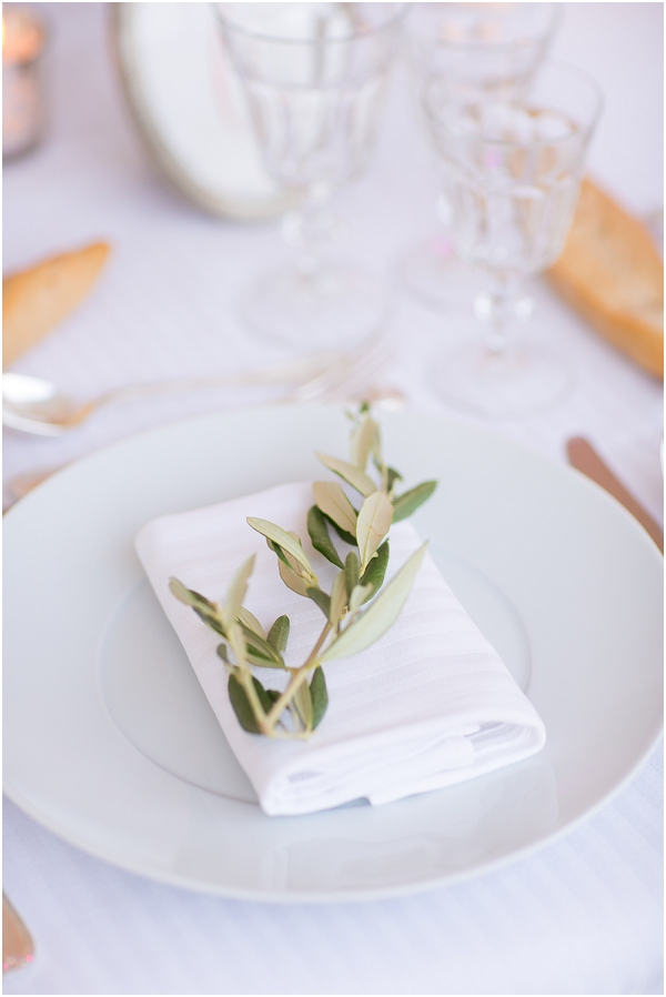 olive wedding decorations