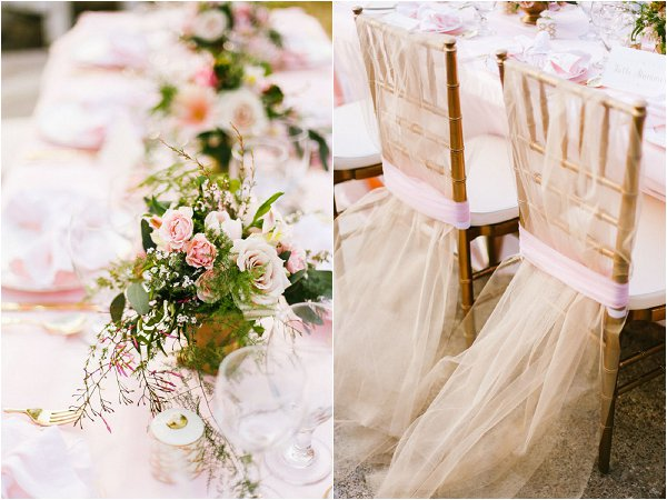 blush and gold weddings
