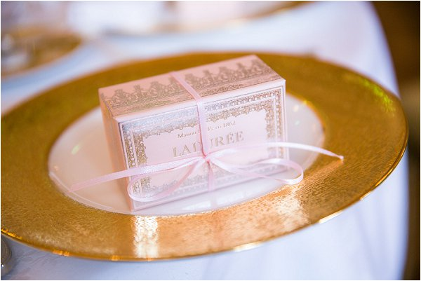 laduree wedding favour