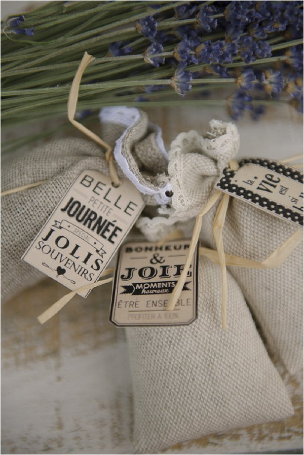 lavender wedding favours