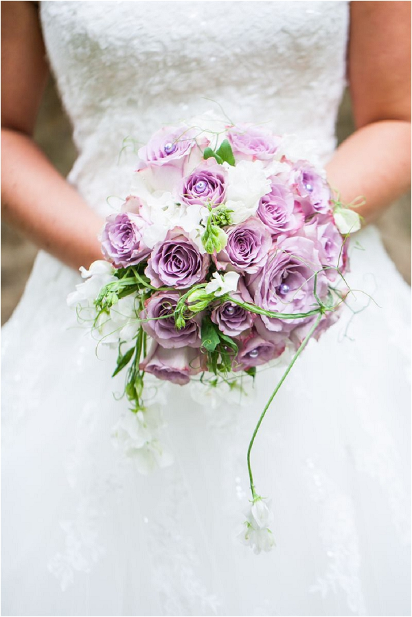 lilac wedding flowers