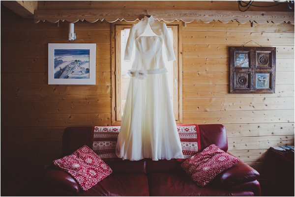 log cabin wedding