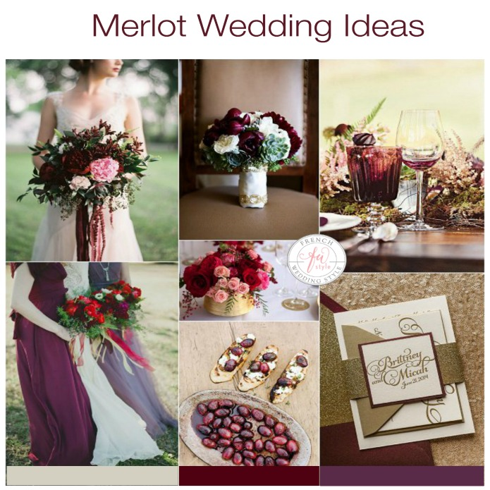 Merlot wedding ideas