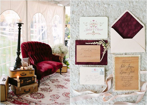red velvet wedding ideas