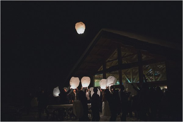 release wedding lanterns