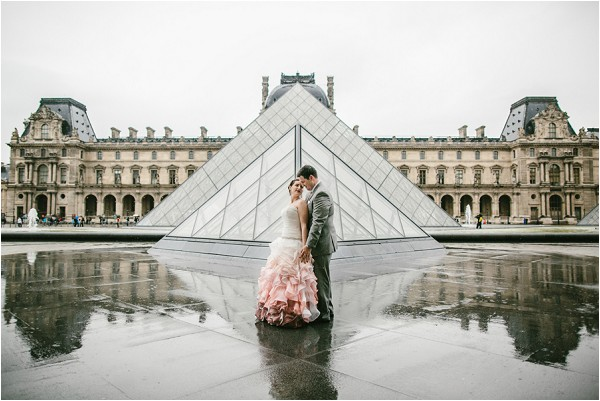 wedding at louvre paris