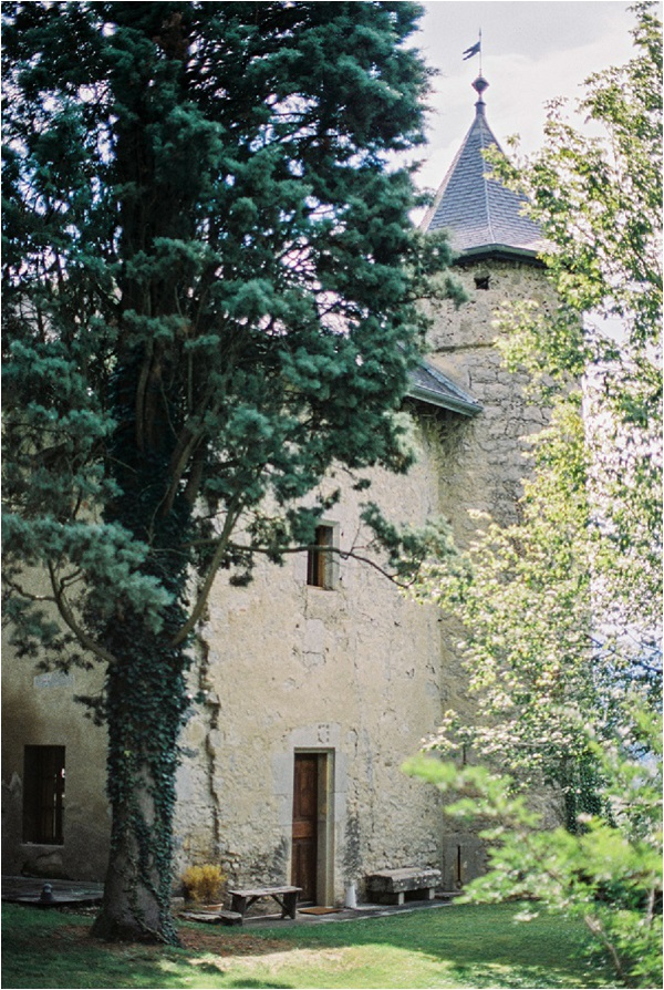 chateau side view
