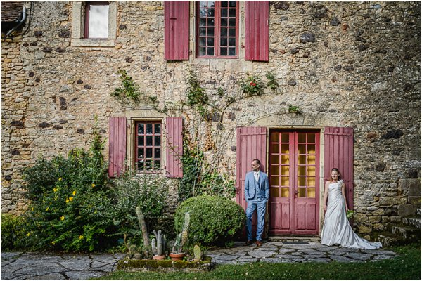 french farmhouse wedding