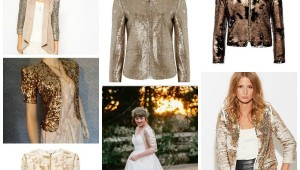 gold bridal cover up ideas