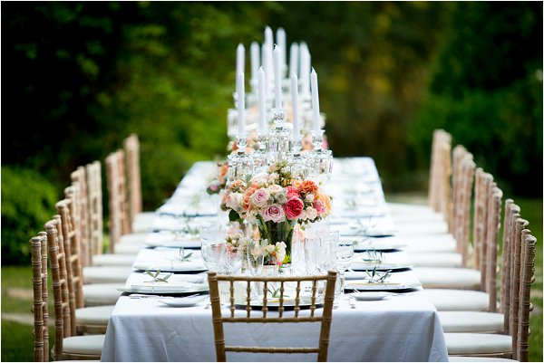gold outdoor wedding