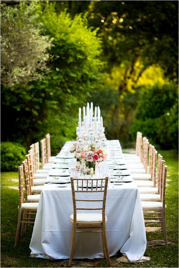 luxury wedding in France
