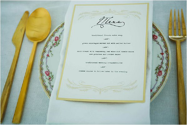 rustic french wedding table