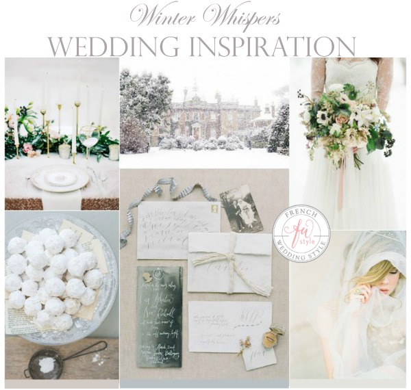 winter whispers wedding inspiration