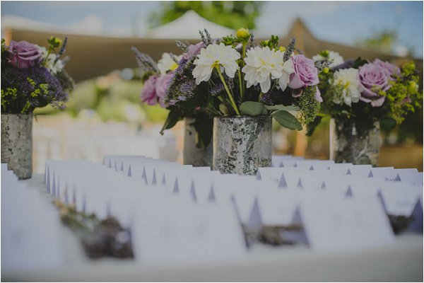lilac wedding stationery