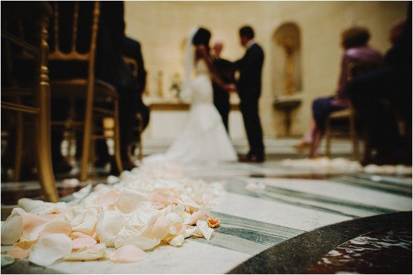 rose petal aisle decorations