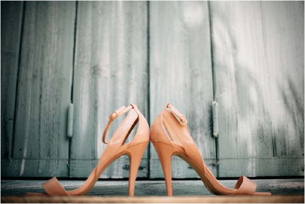 tan wedding shoes