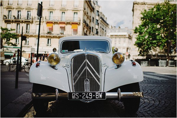 wedding car Paris