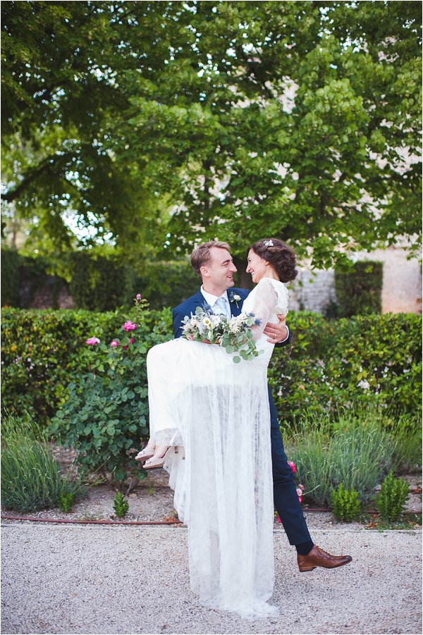 Nautical inspired wedding in Provence