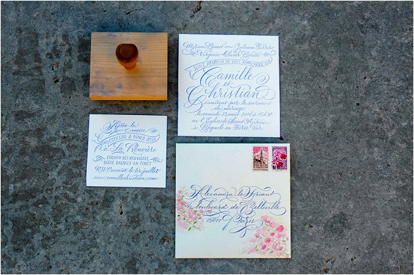 calligraphy and design stamp