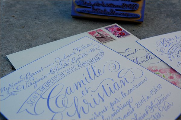 calligraphy and design by Studio French Blue