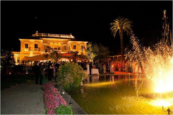 chateau ephrussi at night