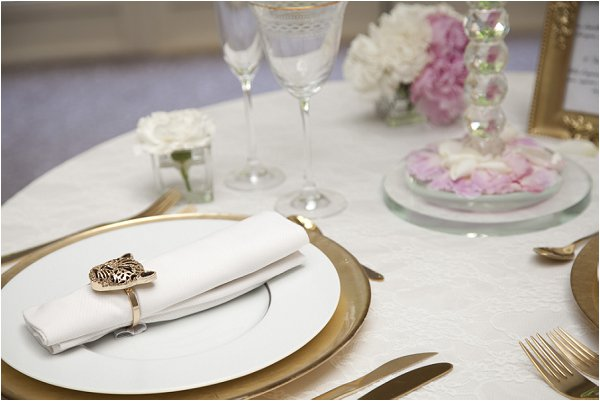 chic wedding table