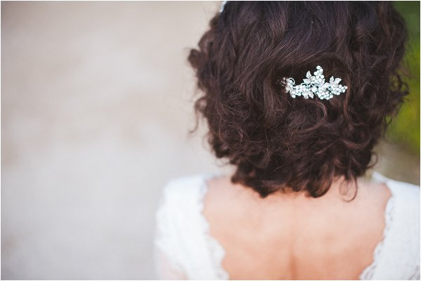 delicate bridal hair accessories