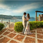engagement on French Riviera