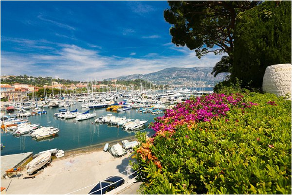 french riviera scenery