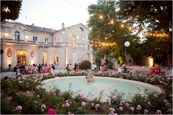 luxury chateau wedding