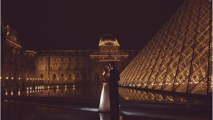 Paris night wedding |