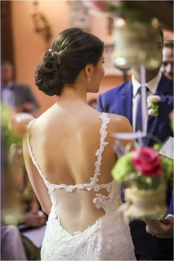unique back wedding dress